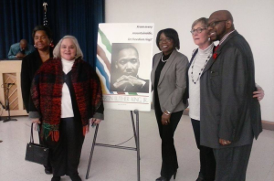 Martin Luther King Celebration Committee 2015 - Carolin Harvey, Maurine Pyle, Arlene Norvell, Vicki Devenport , Chris Swims